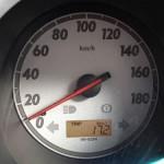 ホンダフィットの燃費:139500km