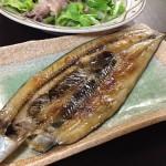 フライパン用ホイルで焼き魚完成