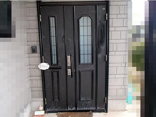 玄関ドア 現況1
