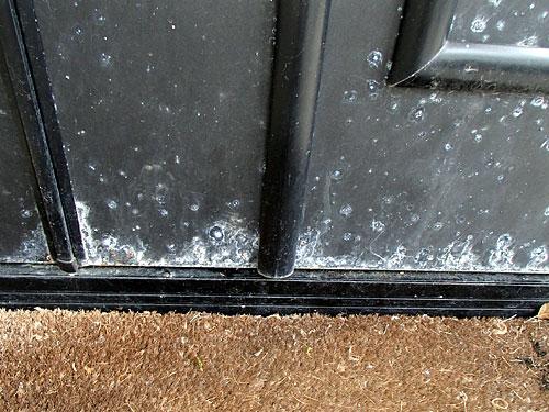 玄関ドア 現況下