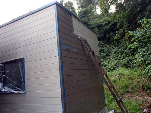 外壁塗装状況1回目