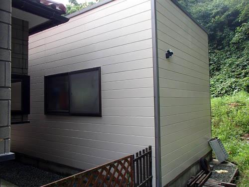 外壁DIY塗装完成