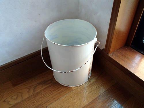 空き缶リメイク:ゴミ箱