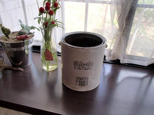 空き缶リメイク:飾り