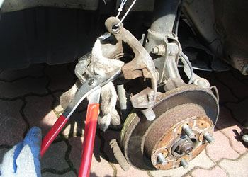ムーブカスタムL160Sブレーキパッド交換04