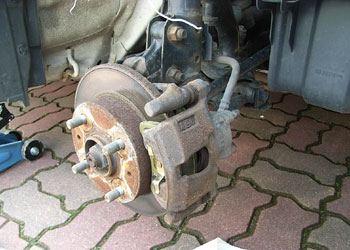 ムーブカスタムL160Sブレーキパッド交換05