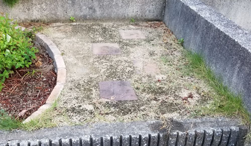 真砂土舗装9年後-3