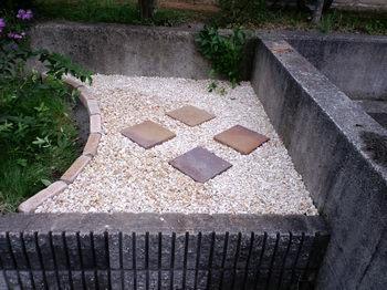 洋風庭園DIY