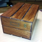 アンティーク木箱